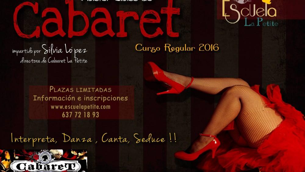 master class de cabaret en Granada 2016