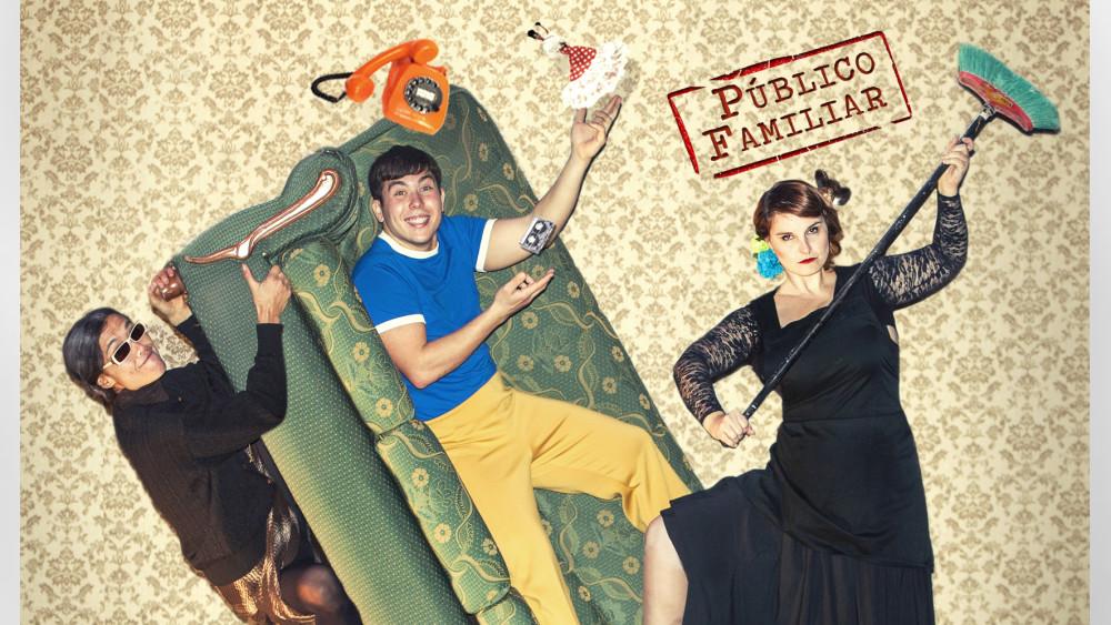 espectáculo de teatro Anda que no ni ná en Granada